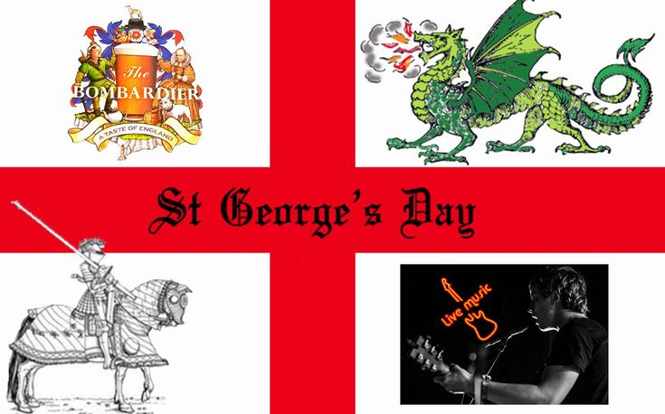 Paris Food & Drink Events: St George's Day / Live Music @ The Bomb!!