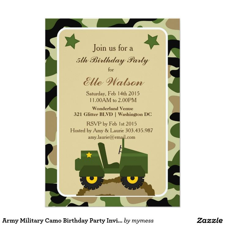 Bday Invitation as adorable invitation example
