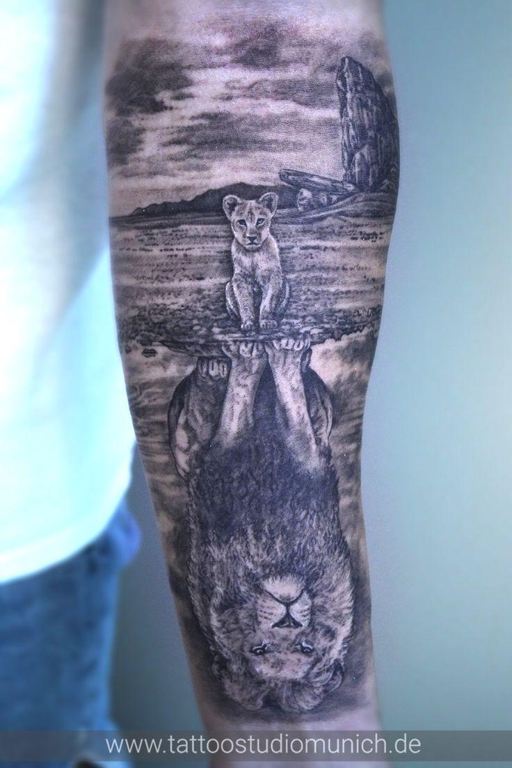 Pin by Myleen Pallek on Dziary in 2020 Lion king tattoo