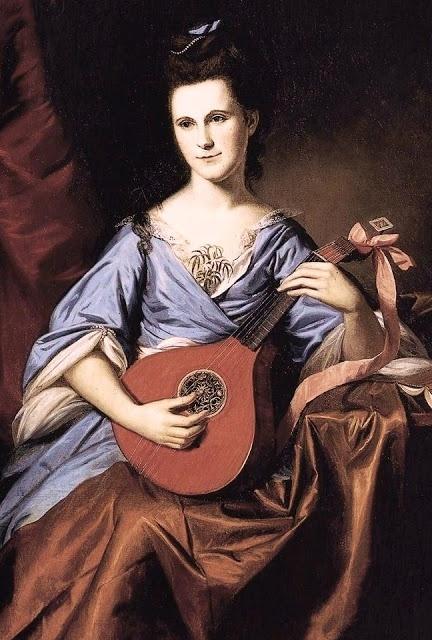 Julie Stockton (Mrs. Benjamin Rush) (1776); Charles Willson Peale (1741-1827, American)