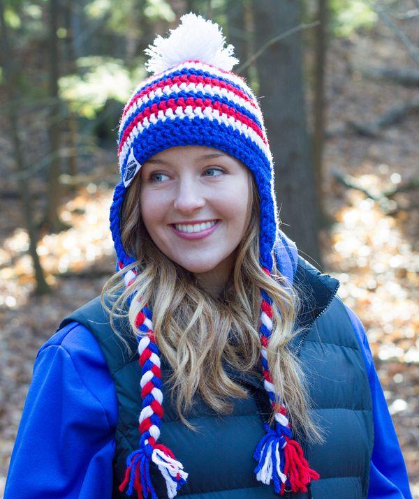 Double crochet earflap hat fb641b31f3a