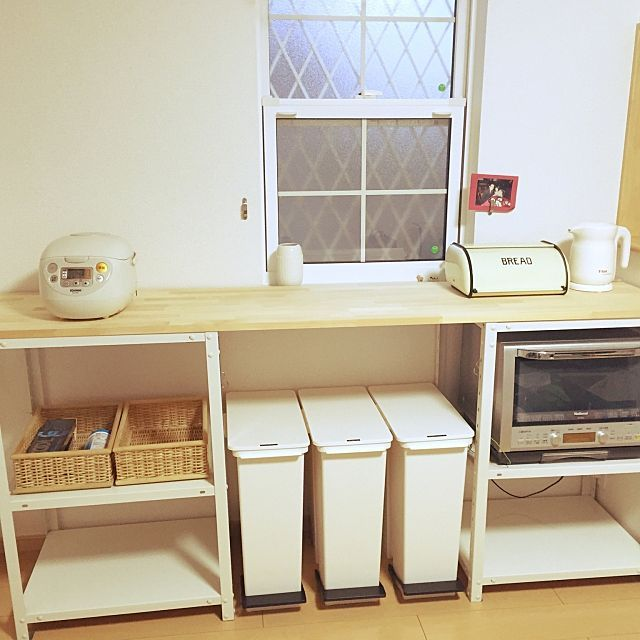 キッチンで使うゴミ箱と置き方、浮かない&目立たない方法