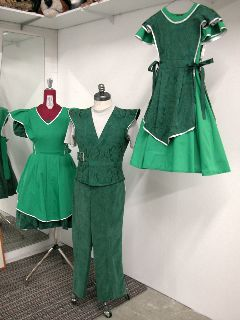 Drayton Entertainment  Spring 2011, remount Winter 2011, Spring 2012   Assistant Costume Designer (Seamstress, Dyer)   Costumes produced at ...