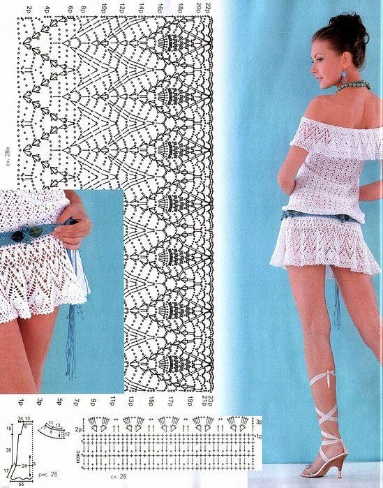 La tunica bianca semplice ed elegante, creata a posto per andare sulla spiaggia. Schema