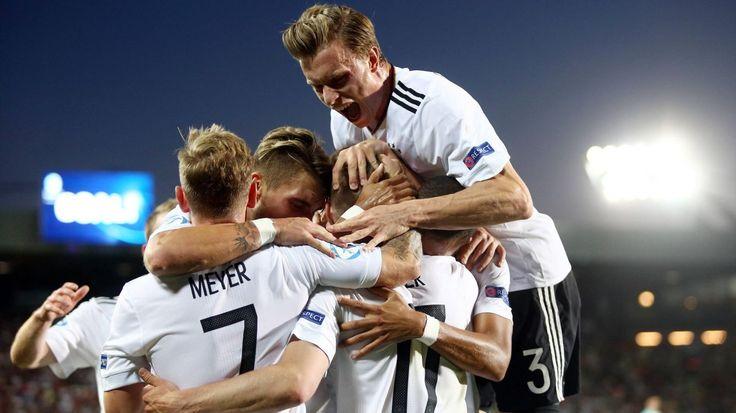 U21-EM: Deutschland durch Sieg über Spanien neuer Europameister - Mitchell Weiser mit goldenem Tor - U21-EM 2017 - Fußball - Eurosport Deutschland