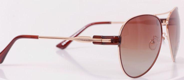 Солнцезащитные очки Dior в коричневой оправе, фирменной упаковке, лизнзы - стекло #20046