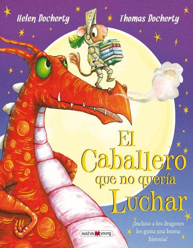 """Para domar a un dragón, no hay nada como un cuento. Cuando los padres de Leo lo mandan a luchar contra un dragón, él se lleva un escudo, una espada y varios de sus libros favoritos. Después de todo, ¿quién puede resistirse a un buen libro?"""". http://rabel.jcyl.es/cgi-bin/abnetopac?SUBC=BPSO&ACC=DOSEARCH&xsqf99=1874583"""