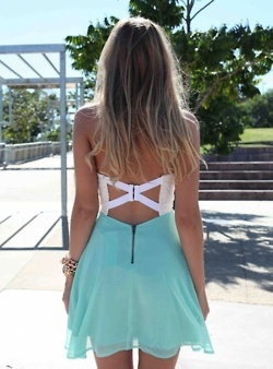 loveOpen Back Dresses, Summer Dresses, Fashion, Cutout, Style, Blue, Than, Cut Out, Back Details