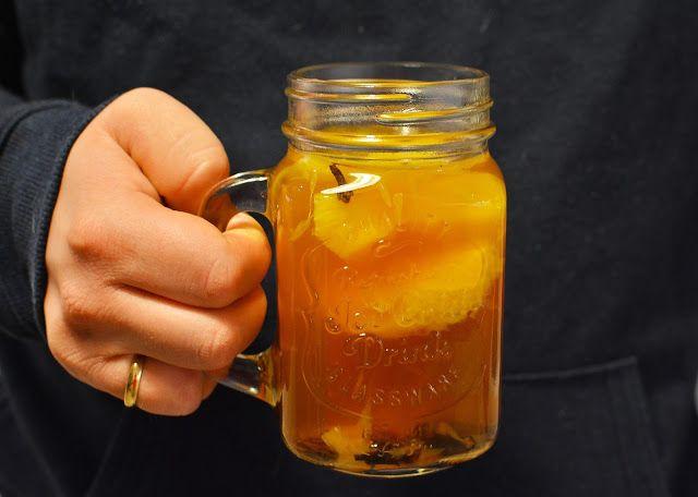 Jazzowe Smaki: Grzane piwo z miodem i pomarańczami
