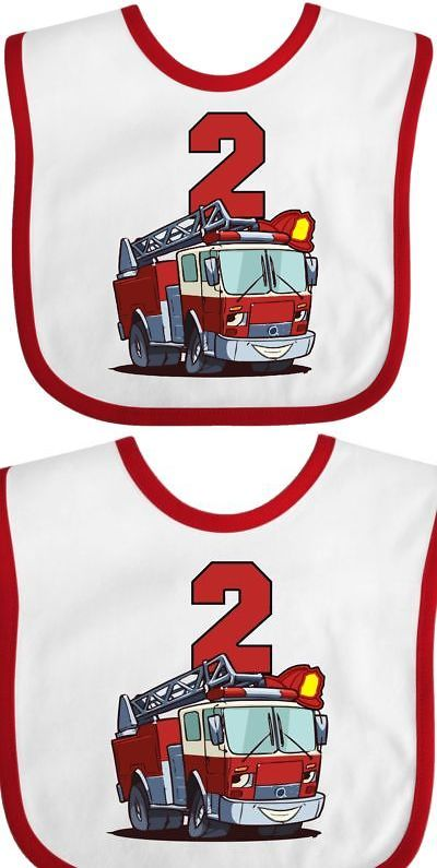 5e7928824 Baby Bibs and Burp Cloths 20408: Inktastic 2Nd Birthday Fire Truck Baby Bib Second  Firetruck Engine Gift Clothing ->… | Baby Bibs and Burp Cloths 20408 ...