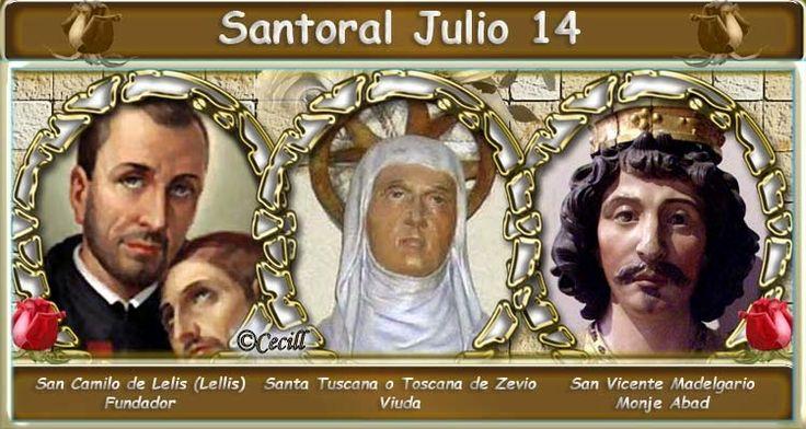 Vidas Santas: Santoral Julio 14
