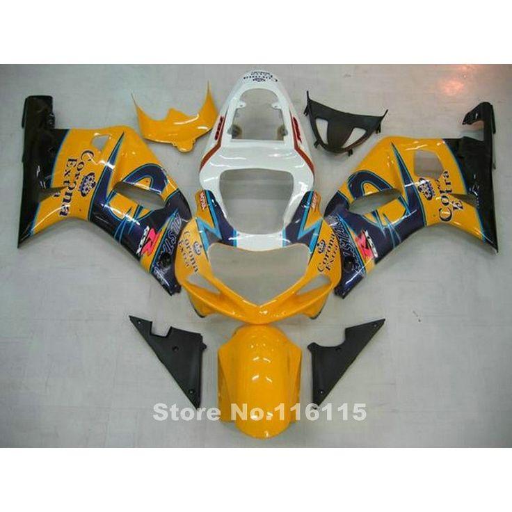 (330.28$)  Buy here  - fairing kit for SUZUKI GSXR600 GSXR750 K1 2001 2002 2003 GSXR 600 750 01 02 03 orange blue Corona motobike fairings set X53