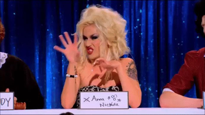 """Adore Delano as Anna Nicole Smith 