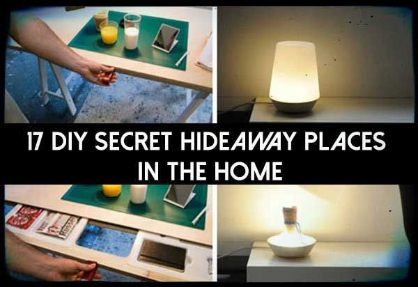 17 DIY Secret hideaway Places In The Home - SHTF Preparedness