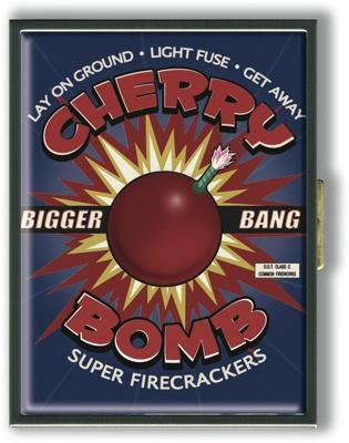 Cherry Bomb Cigarette Case
