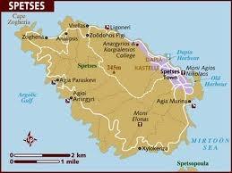 spetses map