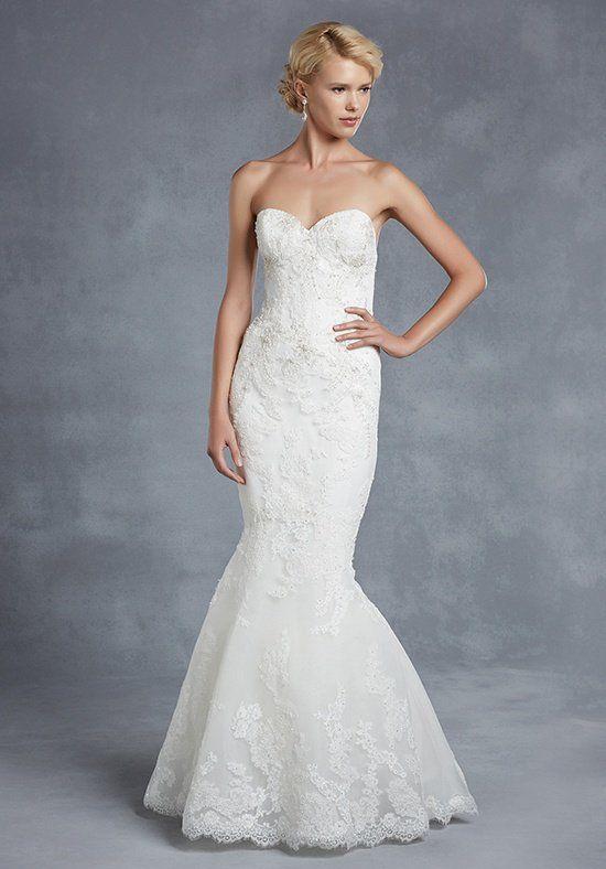 New modern wedding dresses: Blue wedding