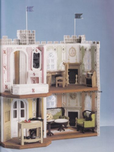 Victorian Dream House  Winning Plastic Canvas Patterns  TNS