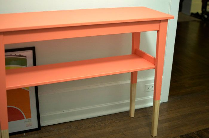 Diy Ikea Hack Entry Way Table