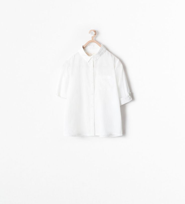 Image 1 of BUTTONED SHIRT from Zara