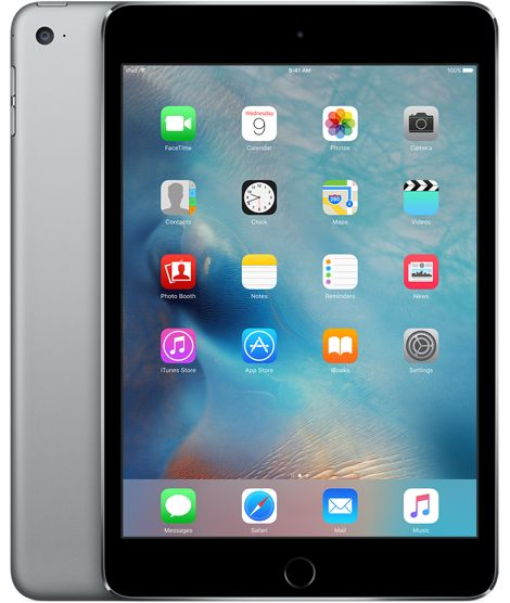 I think the mini is the same size as my Nook. Which I like. iPad mini 4 Wi-Fi 64GB - Space Gray - $499 Apple