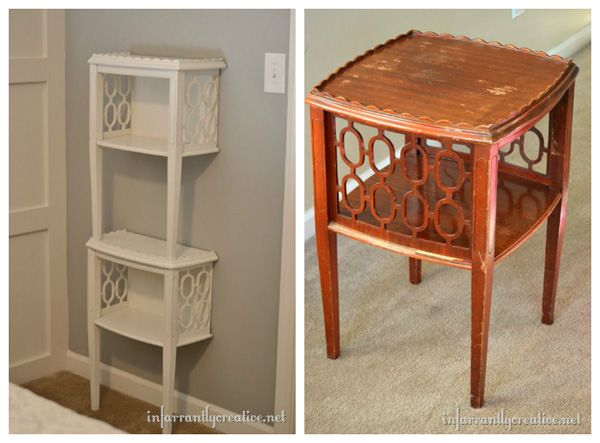 Unique end table ideas woodworking projects plans for Unique side table ideas