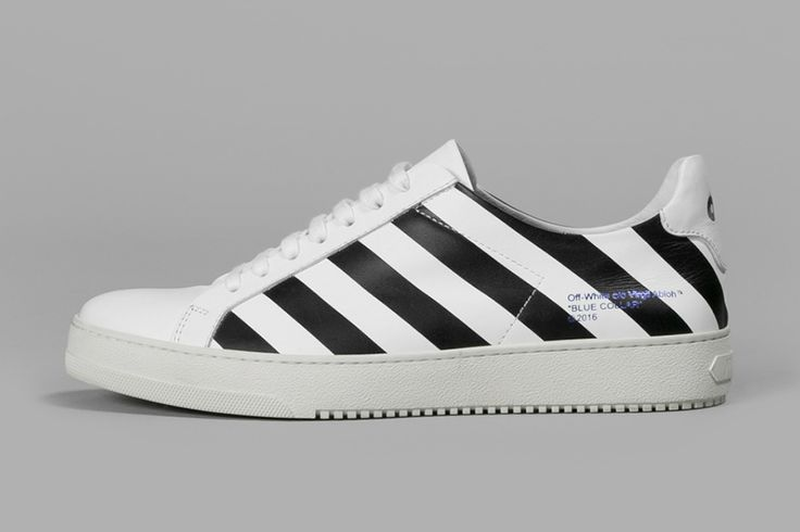 """A sneaker drop to accompany Virgil Abloh's """"Blue Collar"""" collection."""