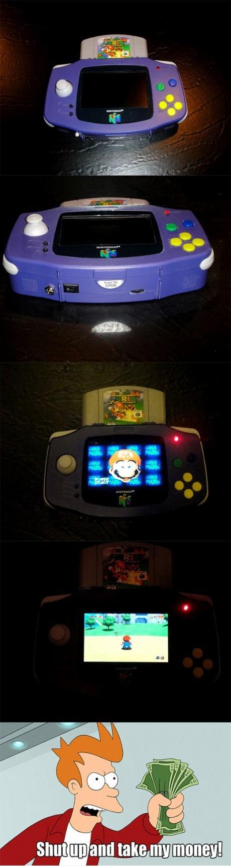 Nintendo64 Portable - Shut Up and Take My Money