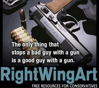 What stops a bad guy with a gun?