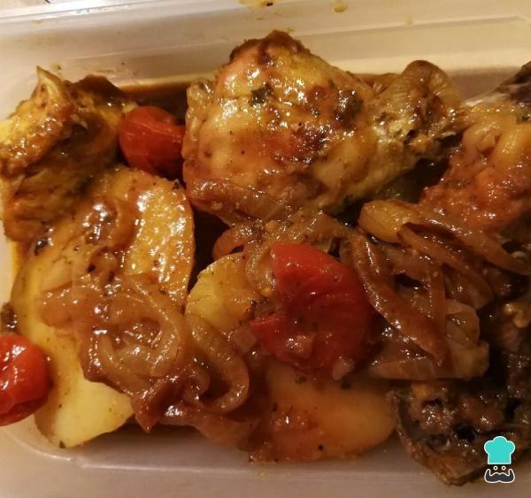 Receta De Pollo Asado En Bolsa De Asar Paso 4 Recetas De Pollo Asado Pollo Recetas Con Pollo
