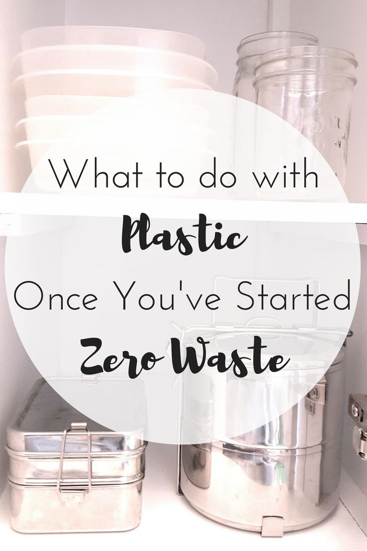 Includes some great tips about moving away from plastic and repurposing your plastic stash.
