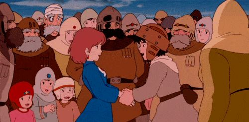 From Castle in the Sky, one of my favorite masterpieces of the great Hayao Miyazaki
