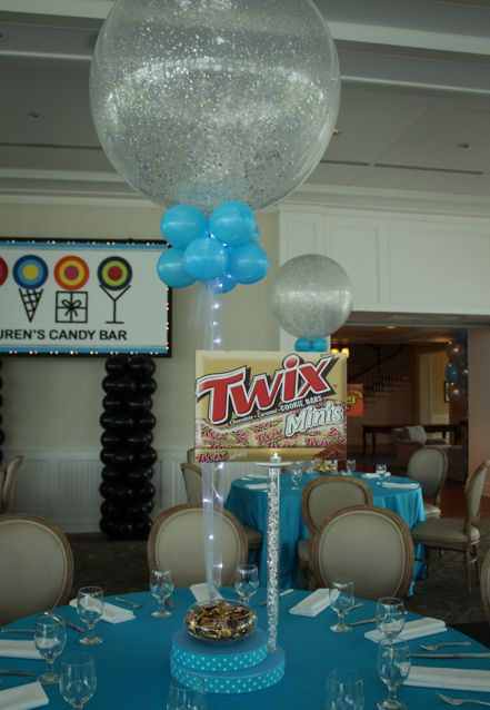 Best ideas about candy theme centerpieces on pinterest