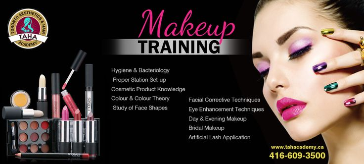 Join #1 #MakeupSchool in #Toronto - TAHA #Academy today.  For more details visit: http://www.tahacademy.ca/professional-makeup-school-toronto.html Phone: 416-609-3500  #BeautyAcademy #Makeupcourses #MakeupTRAINING #Makeup #TRAINING