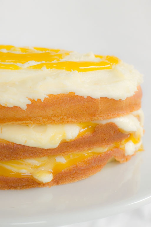 Lemon Curd Layer Cake | Cakes | Pinterest