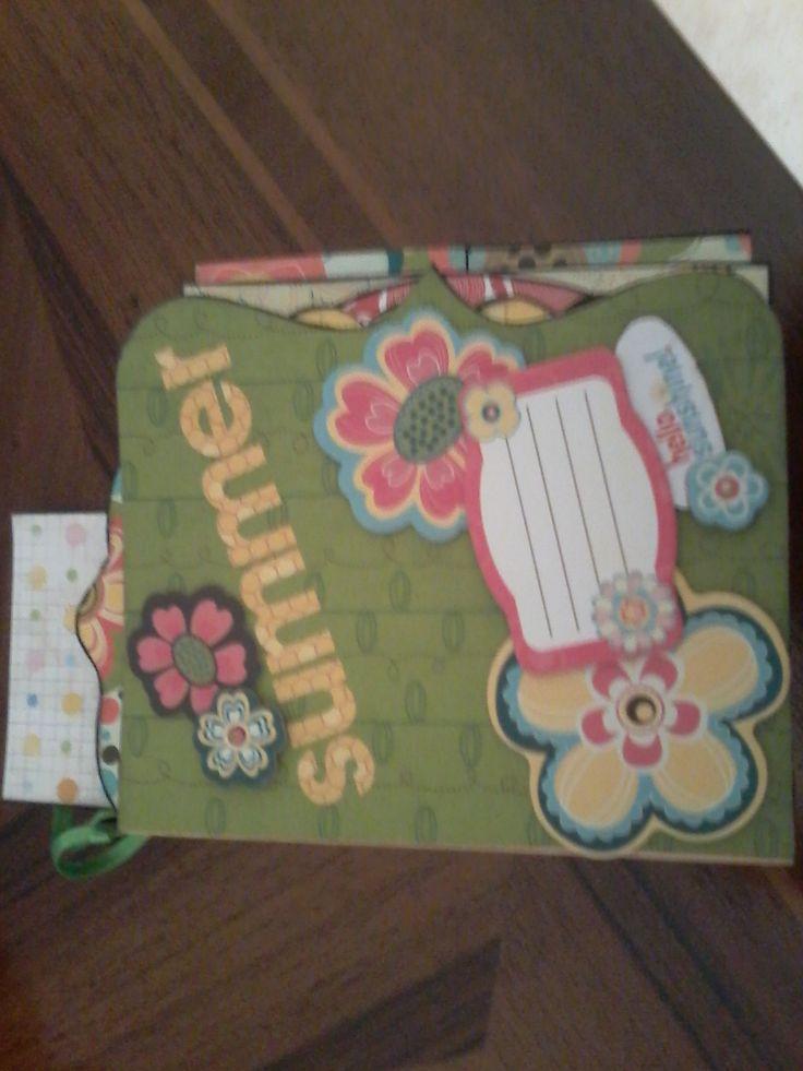 mini album Bo Bunny collection hand made by Paola Botero