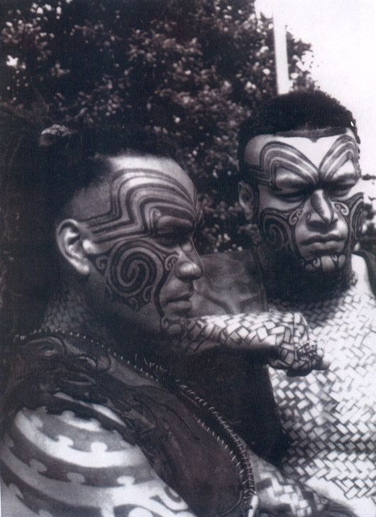 Ta'moko, New Zeland, Photo from the movie Once Were  Warriors - harrowing.