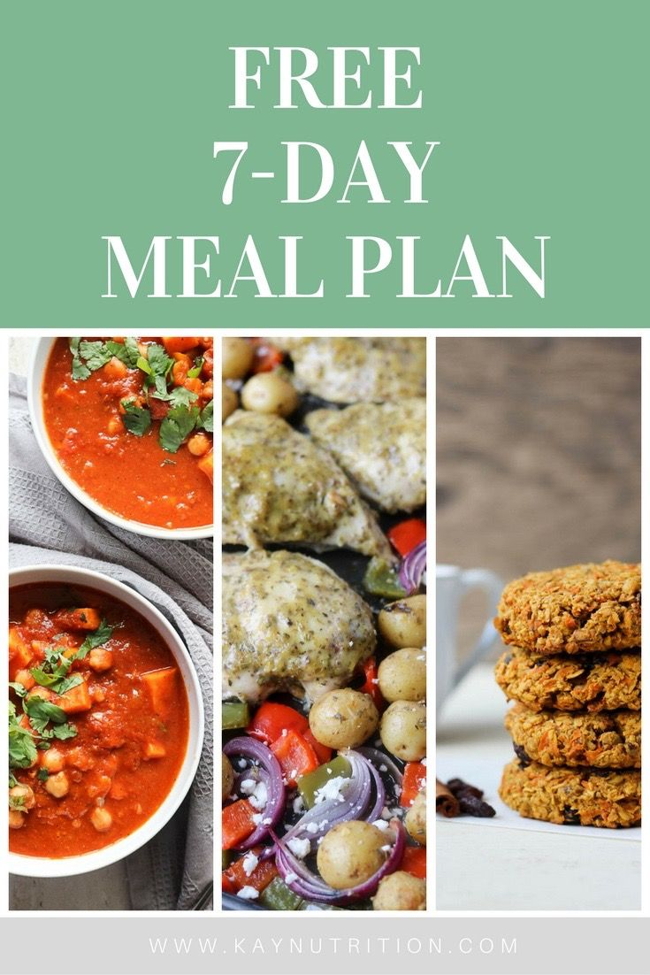 This free 7-day meal plan includes simple and tasty animal and plant-based recipes that will make eating real food work for real life in a realistic way.