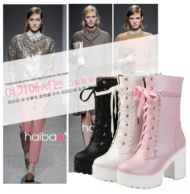 Màu hồng và màu đen ren Lolita Lolita mềm sinh viên chị em phụ nữ ngọt ngào giày cao gót giày cosplay- Taobao Trạm toàn cầu