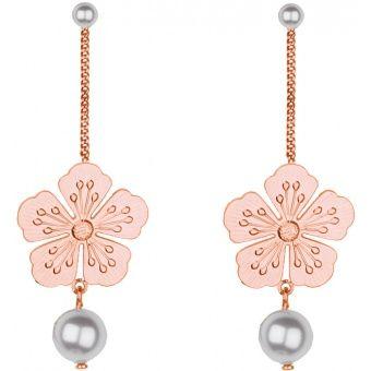 Boucles d'oreilles Nina Ricci Gourmette, Boucles d'oreilles Plaqué Or - Femme 70199760107