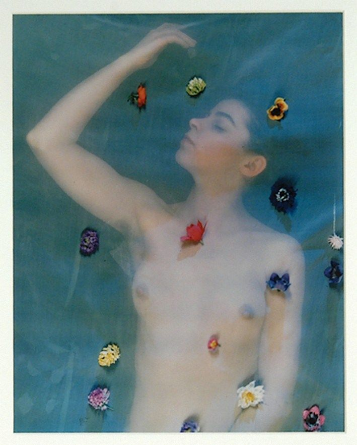 Erwin Blumenfeld - Untitled veiled nude, 1940