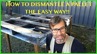 This Tiny House/Cabin was made from FREE Pallets! - YouTube