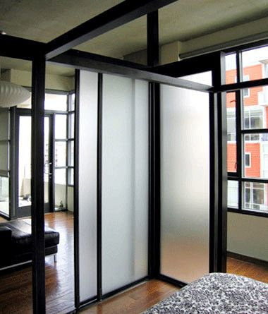 1000 images about sliding glass walls room divider on for Door partitions sliding