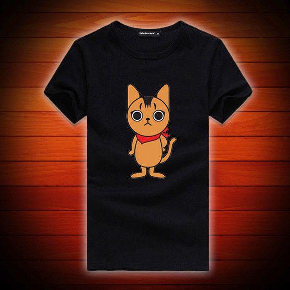 オリジナル猫キャラブランド「シュー太のくせに。」のオリジナルTシャツです♪こちらではブラックのTシャツをご紹介していますがレディースTシャツの形状は白Tシャツ...|ハンドメイド、手作り、手仕事品の通販・販売・購入ならCreema。