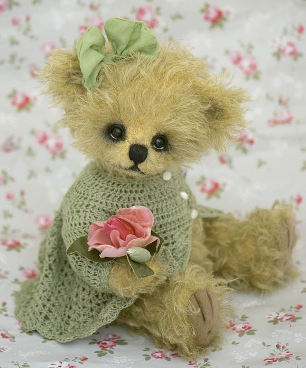 173 best teddy bears dolls and other stuffies images on pinterest rosa clairea little bear publicscrutiny Choice Image