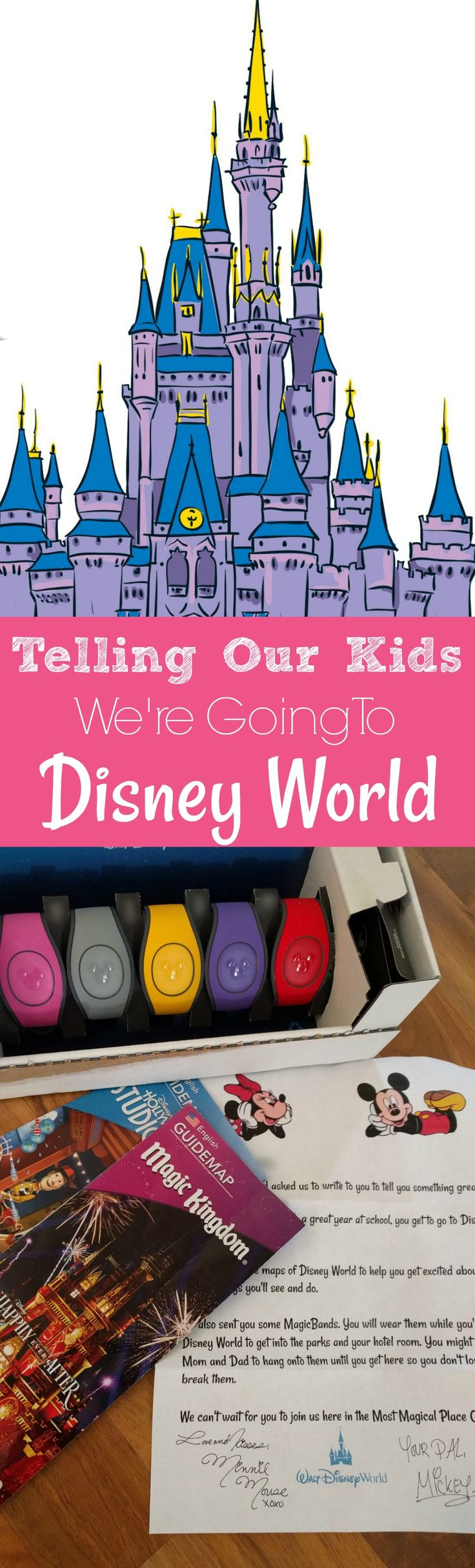 Going to Disney World is super exciting. TELLING YOUR KIDS you're going to Disney World might be even more Exciting. Here's one low-key way to surprise your kids with a trip to Disney!