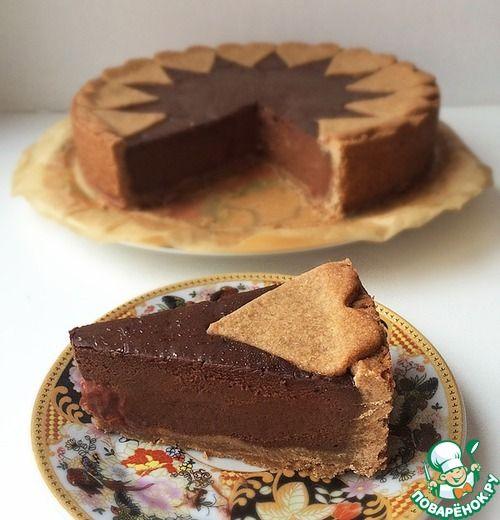 Шоколадный пирог с шоколадным крем-муссом - кулинарный рецепт