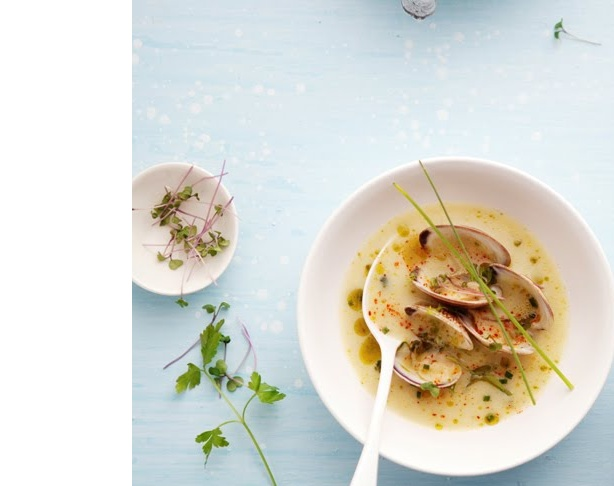 ... -free/clams-in-a-light-fennel-and-shallot-broth/ | food | Pinterest