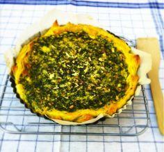 Dit recept voor hartige taart met spinazie is zo ontzettend lekker en eenvoudig te maken. Heb hier al heel veel enthousiaste reacties op gekregen maar.....