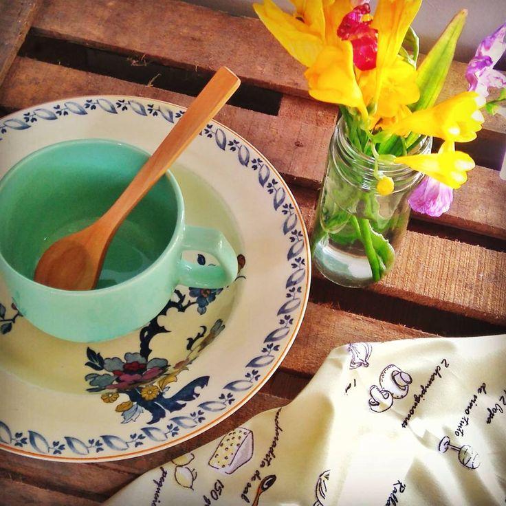 Tener 2 o 3 piezas que nos encanten y disfrutar más de la rutina 💛 #desayunos #meriendas